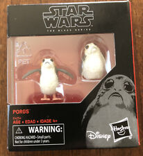 Star Wars The Black Series Porgs Small Porg Action Figure New IN HAND Popular!!