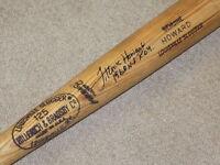 Frank Howard H&B Game Used Signed Bat Washington Nationals Dodgers