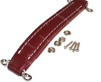Red Oxblood Vintage Leather Style Guitar Amplifier Handle for Fender Ampeg Amp