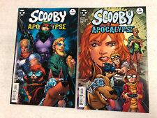 Scooby Apocalypse #4 and #4 Variant   -Comic Book Lot- Please Visit My Store