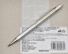 KOH-I-NOOR 5228 CN SILVER 2.0MM POCKET MECHANICAL PENCIL LEADHOLDER.