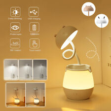 Flexible Rechargeable LED Lamp Table Dimmable Touch Control Desk Reading Light