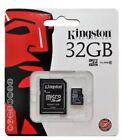KINGSTON 32 GB MICRO SD SDHC MEMORY CARD UHS-1 CLASS 10