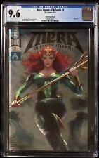 Mera: Queen Of Atlantis #1 CGC 9.6 Artgerm Foil Convention Variant Cover!