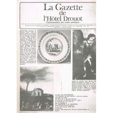 La GAZETTE de l'Hôtel DROUOT 1983 N°15 Souvenir DUC de BERRY TABATIERES Chinois
