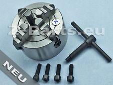 4 Backenfutter 100 mm für zylindrische Aufnahme exzentrisch spannend NEU