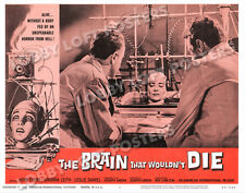 THE BRAIN THAT WOULDN'T DIE LOBBY SCENE CARD POSTER # 8 1962