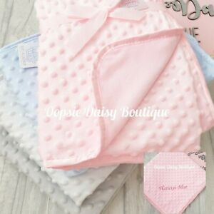 Personalised Baby Blanket Delux Supersoft Blanket