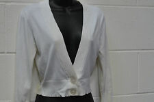 Jane Norman Women's V Neck Button Jumpers & Cardigans
