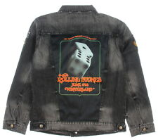 Live at Winterland Men's The Stones Tumblin Dice Concert Denim Jean Jacket