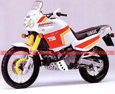 YAMAHA XTZ 750 Super Ténéré ( XT-Z ) 1989 Fiche Moto 000111