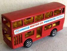 Corgi Junior Bus Daimler Fleetline Esso Double decker vintage