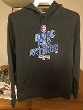 Chicago Cubs Made for October Hoodie Sweater Kris Bryant Jersey Medium and 2XL
