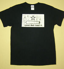 Gonzalez Texas Come and Take It Revolution T-Shirt Black size M From The Alamo