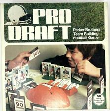 Vintage 1970'S Pro Draft Football Board Game Parker Brothers Complete