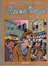 A Tribute to Robert Crumb COMIC ALBUM 100 Seiten wie neu Gilbert Shelton WITTEK