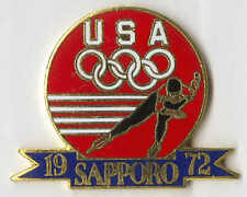 1996 ATLANTA OLYMPIC PIN RENDITION OF TEAM BADGE FROM SAPPORO 1972