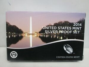 2014 US MINT SILVER PROOF SET