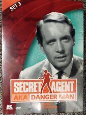 Secret Agent AKA Danger Man - Set 3 DVD, 2002, 2-Disc Set FACTORY SEALED