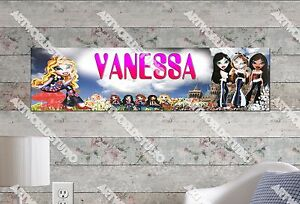 Personalized/Customized Bratz Name Poster Wall Art Decoration Banner