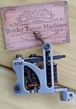 BORDER TATTOO MACHINE,CUT-BACK-LINER CUSTOM IRON FRAME CUSTOM 7&1/2 LAYER COILS