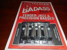 NEW Leo Quan Badass Bass II 4-String Bass Bridge For Fender P/J Bass - CHROME