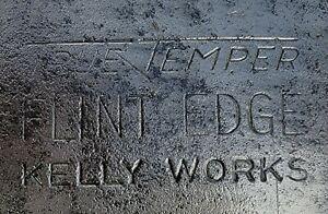 VINTAGE EMBOSSED TRUE TEMPER FLINT EDGE KELLY WORKS PULASKI AXE 3.5 lbs