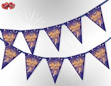 Bonfire Night the 5th of Nov Guy Fawkes Bunting Banner 15 flags by PARTY DECOR
