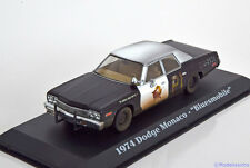 1:43 Greenlight Dodge Monaco Bluesmobile from the movie Blues Brothers