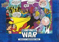 2018 Marvel Avengers Infinity War Mad Titan Inserts #MT8 Dread It