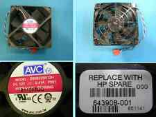 HP Elite 8200 Chassis fan assembly 92 x 92mm 628557-001 DS09225R1 2H 643908-001