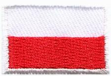 Flag of Poland Polish Europe European applique iron-on patch new Small S-1010