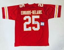 CLYDE EDWARDS-HELAIRE AUTOGRAPHED SIGNED PRO STYLE JERSEY WITH BECKETT #WB50889