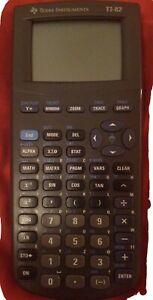 Texas Instruments Ti-82 Stats Calculatrice Graphique - Noir Collège Lycée