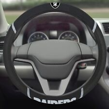 Oakland Raiders Embroidered Steering Wheel Cover