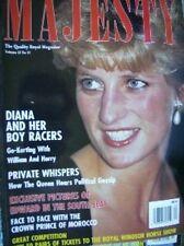 Majesty Magazine Diana & Sons Go-Karting, V13 #12 December 1992