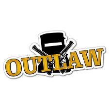 Outlaw Ned Kelly Sticker Aussie Car Flag 4x4 Funny Ute #5593EN