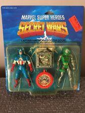 Mattel 1984 VINTAGE MARVEL SECRET WARS Captain America VS. Doctor Doom 2-Pack