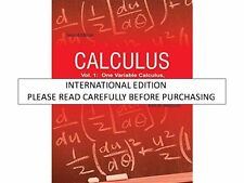 Calculus Vol. 1 by Tom M. Apostol