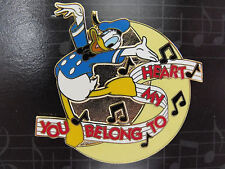 Disney Magical Musical Moments Pin #10 You Belong To My Heart Donald Duck Sing