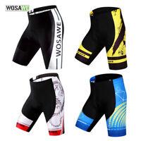 Mens Cycling Shorts 3D Gel Padded MTB Road Bike Bicycle Short Pants Tights S-2XL