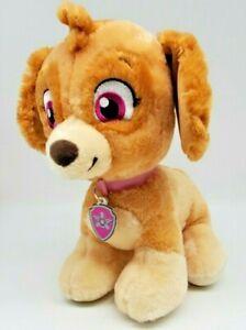 "Paw Patrol Skye Build a Bear Plush Stuffed Animal 12"" Tan Dog Nickelodeon BAB"