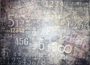 Rice Paper Digits Numbers Decoupage Scrapbook Craft Sheet 341