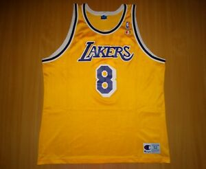Los Angeles Lakers #8 BRYANT SHIRT JERSEY NBA CHAMPION USA basketball 52
