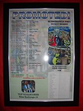 Huddersfield Town promoted to Premier League - 2017 - framed print