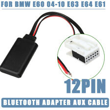 bluetooth Module Radio Stereo AUX Cable Adaptor For BMW E60 04-10 E63 E64 E61