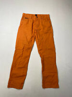 HUGO BOSS MONTANA Chino Trousers - W34 L32 - Orange - Great Condition - Men's