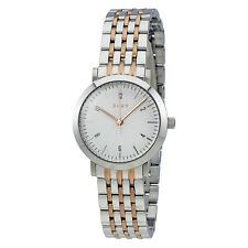 DKNY Minetta White Dial Ladies Two Tone Watch NY2512