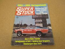 SUPER STOCK and DRAG ILL magazine September 1969 Daytona Charger Shelby GT500KR