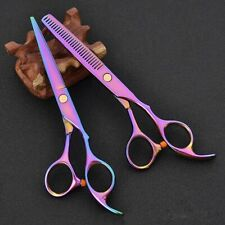 Hair Scissors Barber Shop Titanium Professional Hairdressing